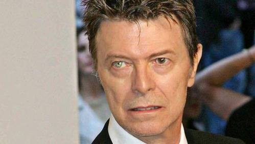Bowie make smile all the time never fail