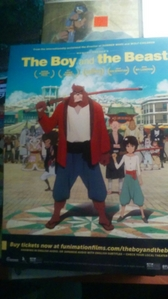 The Boy and the Best is what 你 might be looking for. It's from the creators of Summer Wars Movie. Beauty and the Beast sounds similar to the Boy in the Beast. It's gonna come to Movie theaters. So check it out when 你 can. I hope this helps you. Oh and before i forget i got this poster of The Boy and the Beast for free from R-Galaxy store that sells Marvel and DC stuff there. It's a Funimation title. So 你 can order tickets online. :3