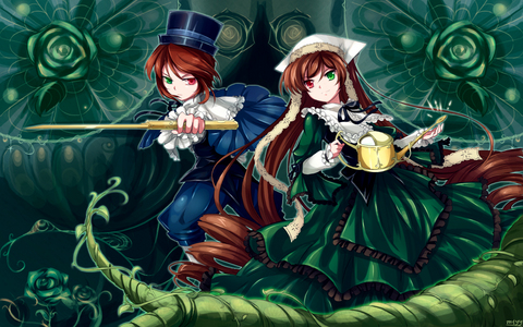 Souseiseki and Suiseiseki from Rozen Maiden ^^