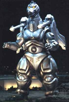 I think Super Mecha Godzilla is the worst cause in the 1993 film Godzilla nearly got killed like Keizer Ghidorah in Godzilla Final Wars in 2004. Super Mechagodzilla  120 meters (393 feet) tall, weighs 150,000 metric tons (165,346 short tons), and can fly at speeds of up to Mach 1 in its standard form. Combined with the Garuda as Super Mechagodzilla, it weighs 150,482 metric tons (165,878 short tons), and can fly at speeds of up to Mach 2. Plus he has those cables that when he plumbed them into godzilla the first time godzilla was able to counter it but the second time he nearly died if it wasnt for Fire Rodan Godzilla would already be dead.
