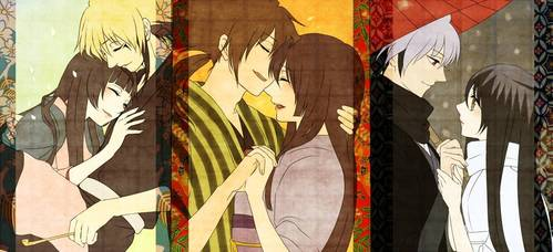I ship Rikuo x Tsurara, cause they seems to upendo each other and alsorikuo always care about tsurara when they were in danger au not. Tsurara also upendo rikuo so much just like Nurarihyon and Yohime and Rihan x Yamabuki otome. Well that's my answer thank wewe