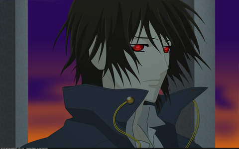 [i]Kaname Kuran from Vampire knight[/i] [b]I really 爱情 him for his red eyes and for being a handsome Vampire <3[/b]