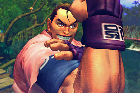 Dan Hibiki from রাস্তা Fighter, the most famous joke character in a fighting game