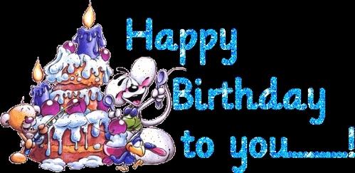 HAPPY (late) BIRTHDAY!!