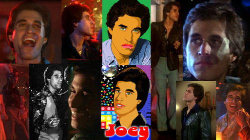 Maybe a cartoon character is meer weird to me but I idolize a realistic character that is basically the same as the actor, Joey from Saturday Night Fever who is portrayed door Joe Cali and I idolize both. He's my current crush ever since I seen the film. Everyone has their own opinions. It can be any cartoon, Anime, celebrity, movie character of even a random character.