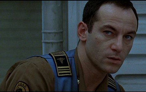 He was one of the crewmembers on the Event Horizon (film:Event Horizon) he's not the good guy by saving the день but he wasn't the enemy in the film. His character is a victim of the events and, in general, likeable.