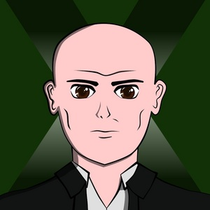 How about this picture I animated of Professor X?