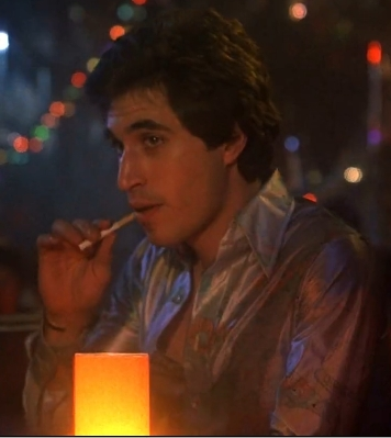 Joey sitting and smoking <33333