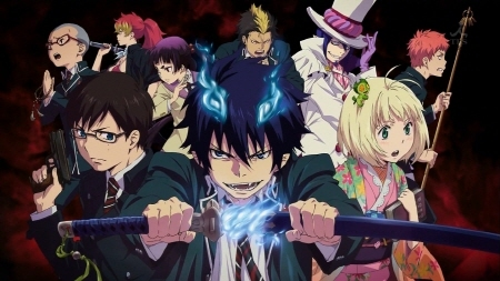 "I guess it would depend on what kind of anime art you might like! I'll give you a listahan that I like 1. Blue Exorcist: This revolves around the spawn of Satan trying to become an exorcist (picture down below.... I guess you can tell which one is the spawn of Satan ;)) 2. Fullmetal Alchemist: Two boys trying to figure out higher level alchemy 3. Dragon ball series: This is hard to explain, Sorry! but its really action type but long! 4. Bleach: About a kid who can see dead people, and is training to be a soul reaper 5. Diabolik Lovers: Which is already on here, but I decided to add it for extra measures 6. Fairy Tail: (One of my all time favorites) 7. Free: This is a swimming anime that is a little weird but its practically all boys (in swim suits) 8. Durarara: Set in Ikebukuro Japan, it has a good hand full of guys in it. 9. Owari no seraph (Seraph of the end): A broken world ruled sa pamamagitan ng Bampira (one of those ""small groups will save the world"" kind of show) -( picture also down below) I hoped this kind of helped.... maybe a little.. If your friend's cousin is younger like... 12... perhaps disregard these options or..... caution."