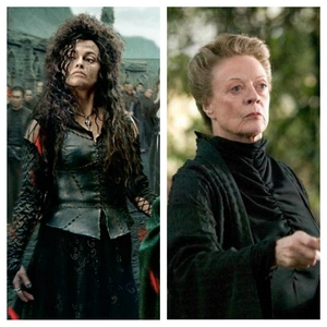 Bellatrix and Minerva, too. They are sooo different, but I like them almost the same.
