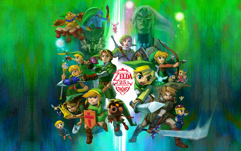 The Legend of Zelda, definitely. I have TONS of pictures and 팬 art from that series on my iPhone.