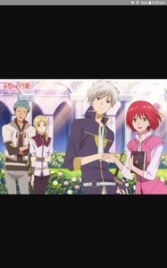 Akagami no Shirayuki-hime Its a must see comedy and romance