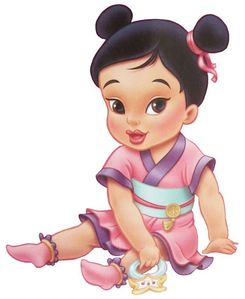 baby Mulan she is so cute and i love chinese babies