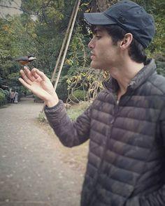 Matt with a birdie