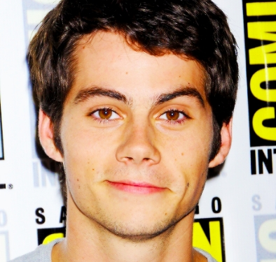 Dylan O'Brien who has gorgeous brown eyes. They're very captivating on screen.