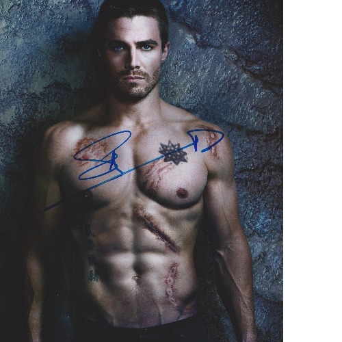 My Stephen Amell signature.