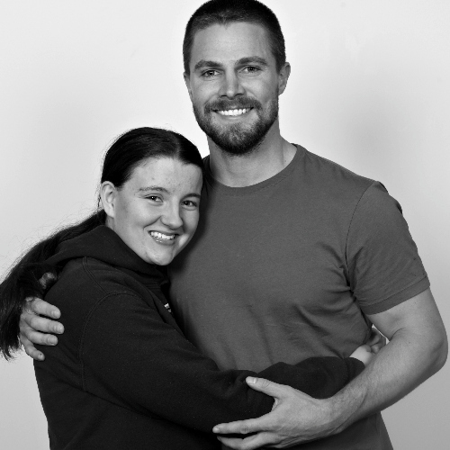 Me and Stephen Amell <3