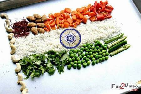 Hello My Friend! :) Indian Flag in different way!