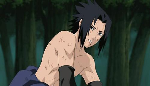 Handsome Sasuke from Shippuuden. Million times hotter than his pre time-skip self.
