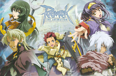 Ragnarok the Animation, an アニメ which is based on an MMORPG game titled Ragnarok Online. Well, obviously for Ragnarok players this is a recommended anime. Places, classes/jobs and costumes are similar to ones shown in the game. Who's not excited to see their favourite jobs got animated? Non-players who like adventure アニメ should also watch this.