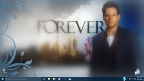 Mine is a fondo de pantalla which I created for a TV mostrar that I loved - and yet another that got canceled. :(