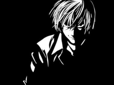 I DESPISE Light Yagami. I'm indifferent towards Batman. I really don't care about him.