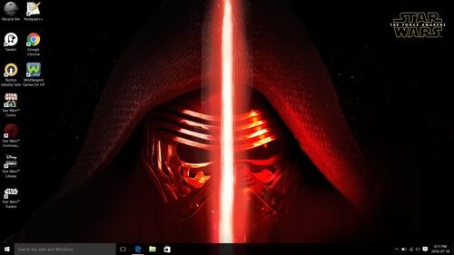 I have the estrella Wars™ Special Edition Notebook.