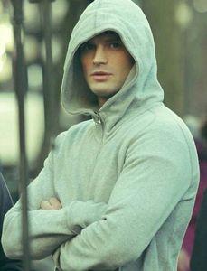 behold a hottie in a hoodie