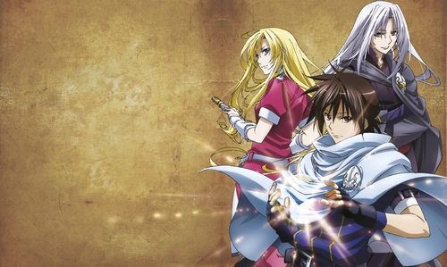 The Legend of Legendary Heroes for sure. It's action, fantasy, adventure, magic, drama, and comedy. I don't think it has that much romance though...