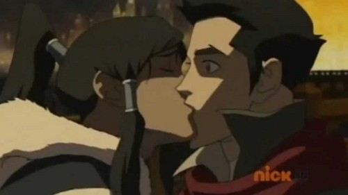 book 1 episode 5 makorra first キッス :)