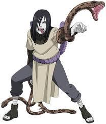 I absolutely HATE Orochimaru from Naruto. He is a HORIBLE person and on tuktok of that HE'S A FREAKING SNAKE!!!!