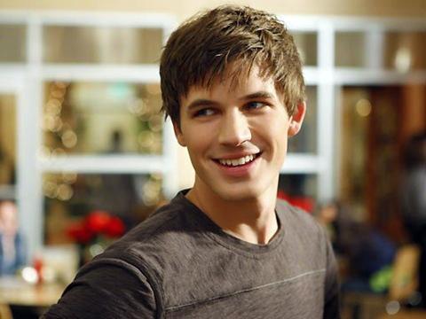 Matt Lanter's bright,sunny smile