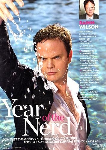 my fav nerd rn: Rainn Wilson