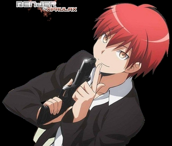 Karma Akabane from Assassination Classroom is one insane and sadistic kid.