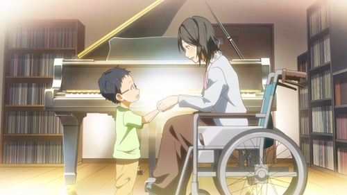 Mother from your lie in april is creepy sometimes
