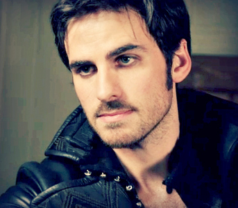 Colin O'Donoghue as Captain Hook/Killian Jones,on Once Upon A Time