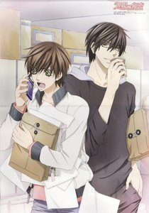 Sekaiichi hatsukoi is definitely one of the best yaoi anime ever made, I highly recommend it!!