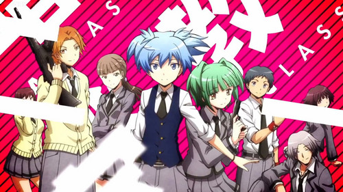 I would recommend: Detective Academy Q The Devil is a Part-Timer! Assassination Classroom [pictured] The Legend of Legendary Heroes  I hope you find something you like!~