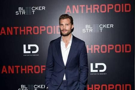 Jamie last 月 at Anthropoid premiere