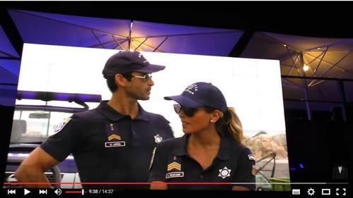 Daniel Lopes and Eva Pelicano from Mar Salgado.