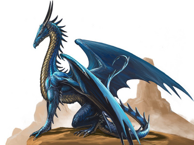 a blue dragon's name would be Bluefire, Bluestar, of Skydancer. A black dragon would be Dark, Moon, of Midnight, I would say!