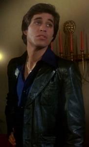The рубашка and leather куртка <333333