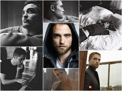 a collage of my British God<3