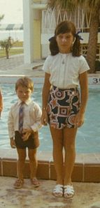 Adorable little John with his sister :)