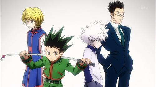 Try Hunter X Hunter.  It's dark and full of adventure.  It also has no filler and the fights use statagy.