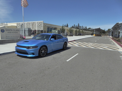 Last June before the summer, I got the Dodge Charger R/T Scat Pack. One of the first ever made in the 2015- generation, and it had to ship from the East coast US, since none of them hit the markets in California yet.