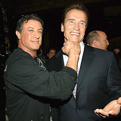 Sly and Arnie :)