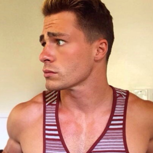 Colton's jawline is FIRE!