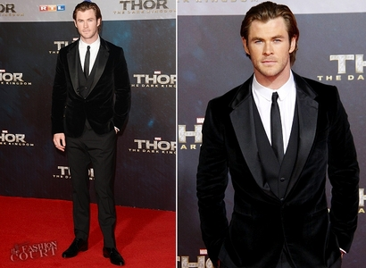Chris looking dashing and dapper<3