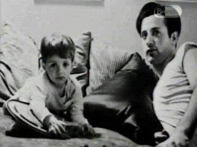 Sylvester Stallone with his father, Frank :)